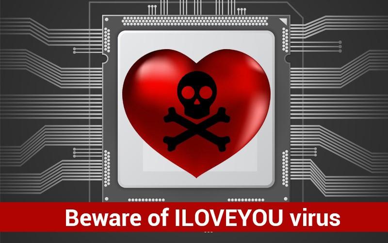 Beware of ILOVEYOU virus